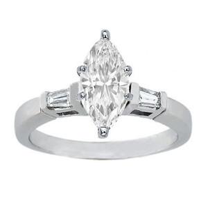 Brand new marquise diamond ring settings