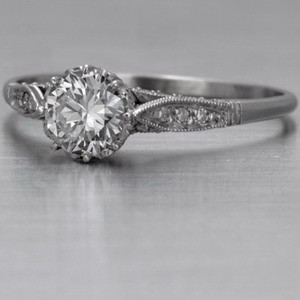 Famous antique diamond ring settings