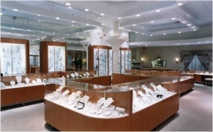 Places for jewelry stores