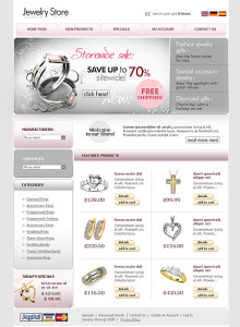 Search for online jewelry stores