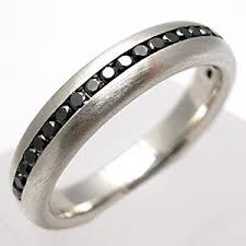 Special mens black diamond jewelry