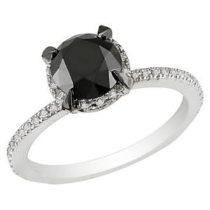 black diamonds rings for women