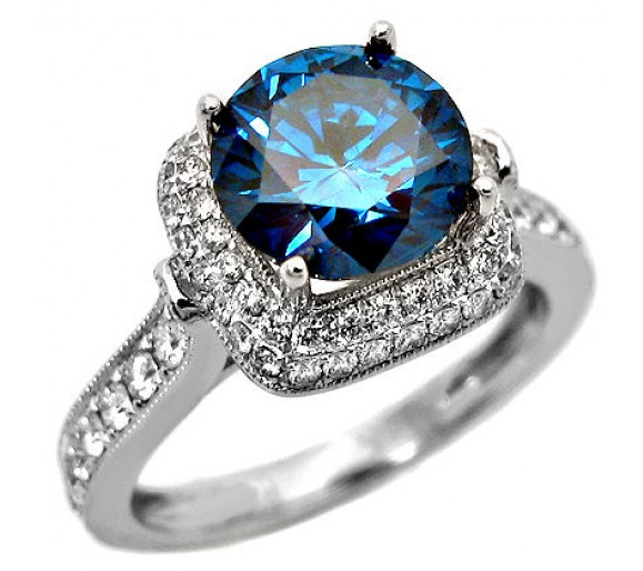 Factors To Consider When Selecting Blue Diamond Rings Pink Diamond
