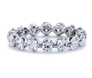 diamond eternity rings for women