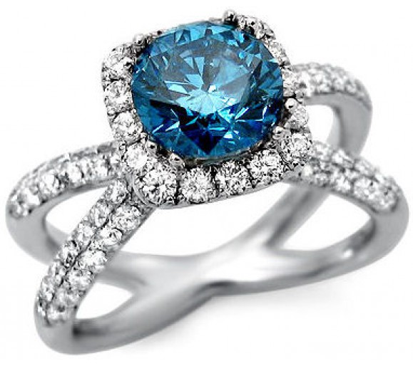 Factors To Consider When Selecting Blue Diamond Rings