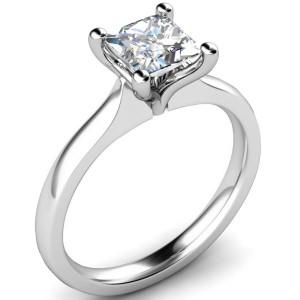 elegant princess cut diamond engagement rings