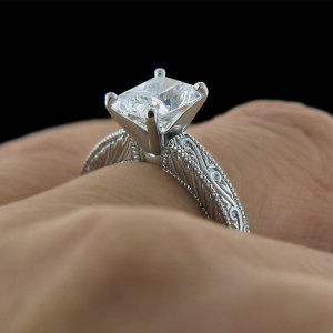 elegant vintage engagement rings