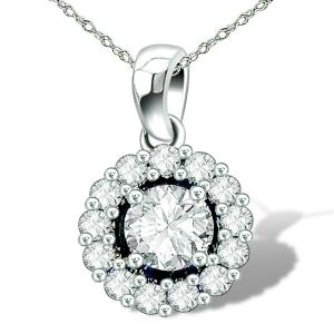 genuine diamond necklace