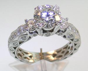 pretty vintage antique engagement rings