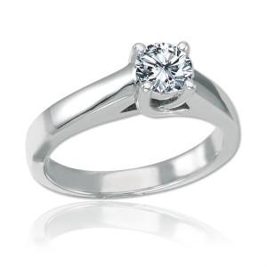 princess cut diamond solitaire rings
