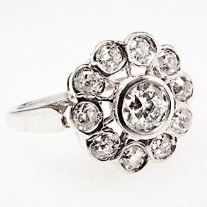 sophisticated antique vintage engagement rings