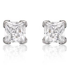 best cubic zirconia earrings for men