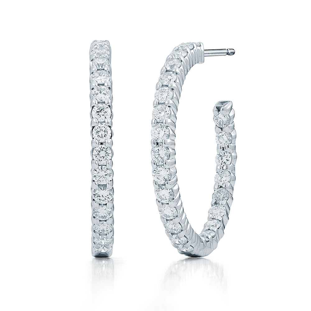 All You Wanted To Know About Diamond Hoop Earrings