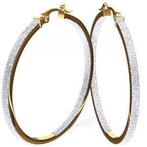 exquisite gold big hoop earrings