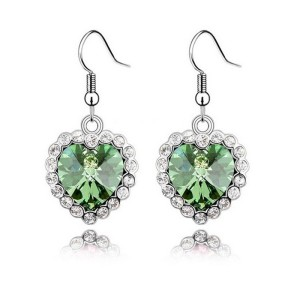heart shaped cheap earrings online
