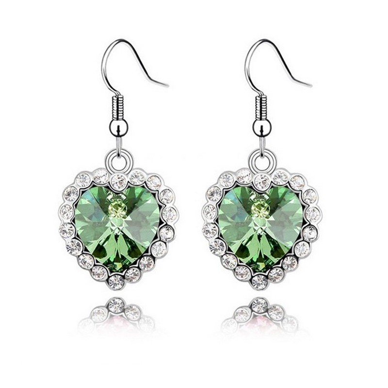 Fashion Jewelry Online Cheap heart shaped cheap earrings