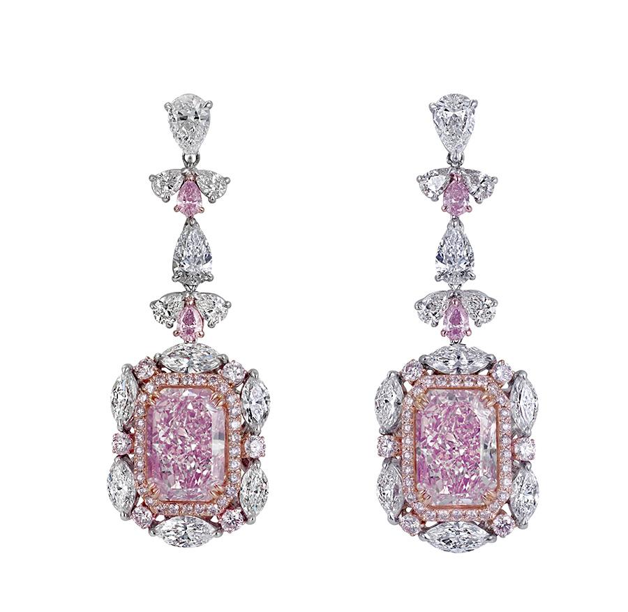 Look Elegant And Sassy In Your Big Hoop Earrings Pink