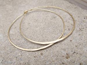 sophisticated extra large hoop earrings