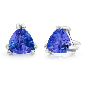 sophisticated tanzanite earrings