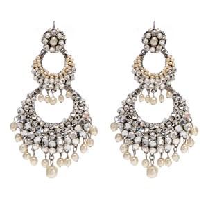 unique crystal chandelier earrings